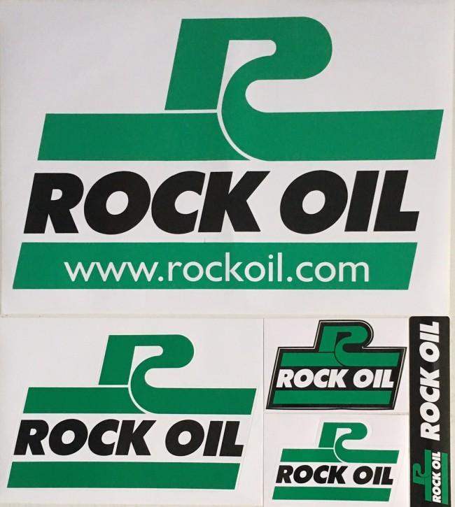Aufkleber ROCK OIL
