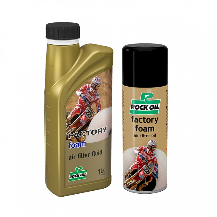 factory foam air filter oil