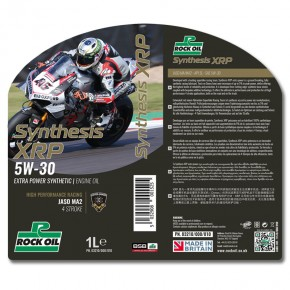 synthesis xrp racing oil SAE 5w30
