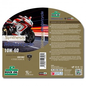 synthesis motorcycle SAE 10w60