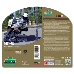 synthesis motorcycle SAE 5w40