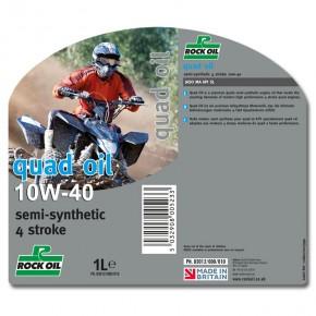 quad oil SAE 10w40