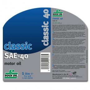 classic monograde SAE 40
