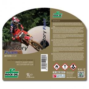 factory foam air filter oil