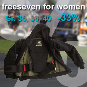 freeseven DAMEN Kevlarhoodie S