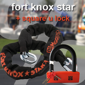 fort knox star + square u lock